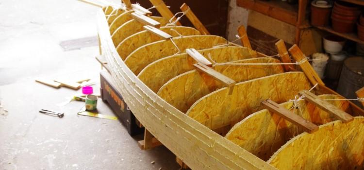 Budowa Kanu – częśćI: planowanie i konstrukcja drewniana